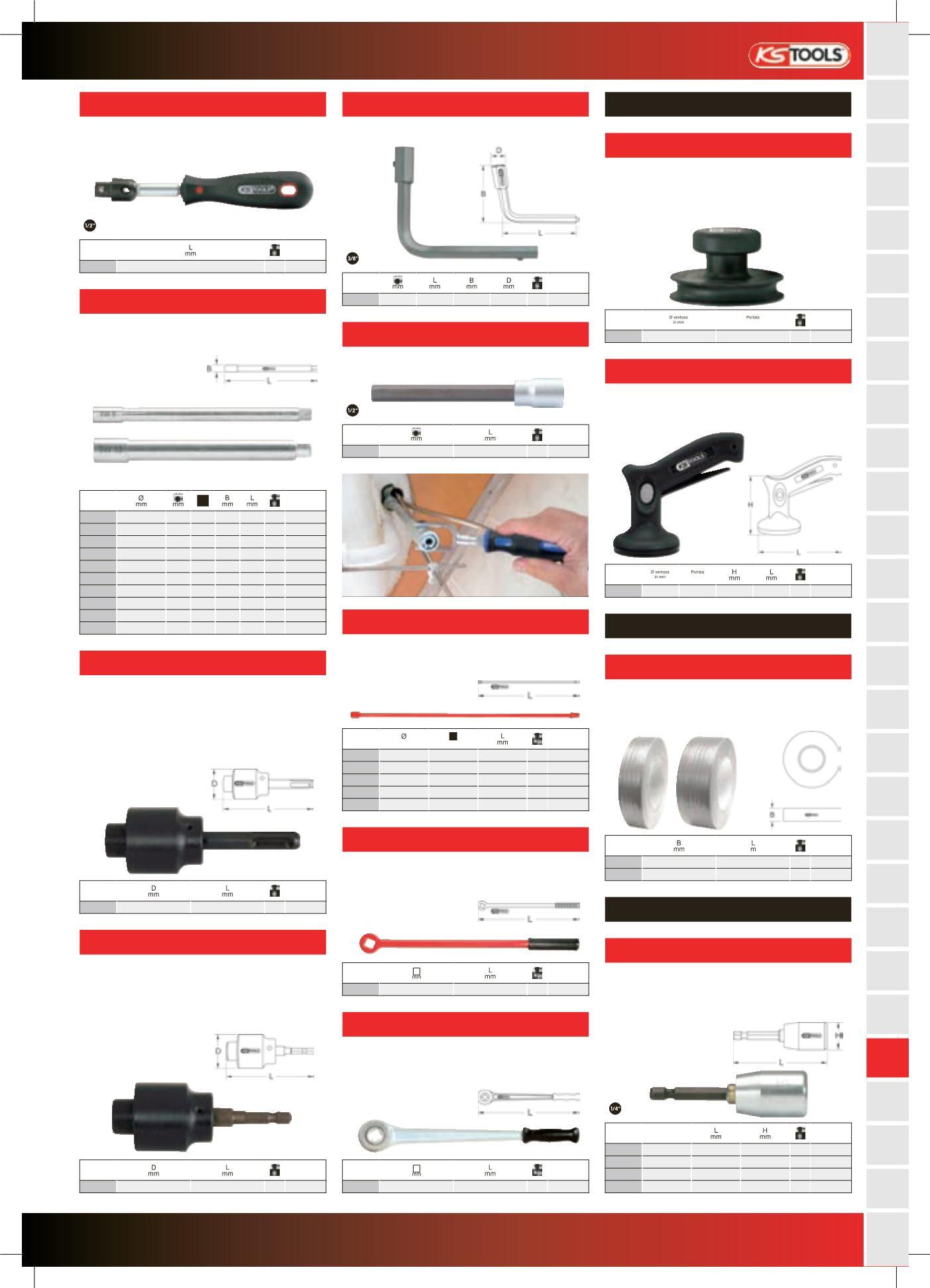 KS Tools 116.2039 Inserto prolunga per rubinetto